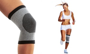 2-Pack Bamboo Comfort Self-Warming Knee Support