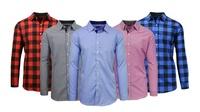Mens Slim Fit Woven Shirt (Nine Colors)