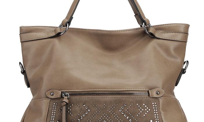 MKF Collection Pisgah Fold-Over Handbag