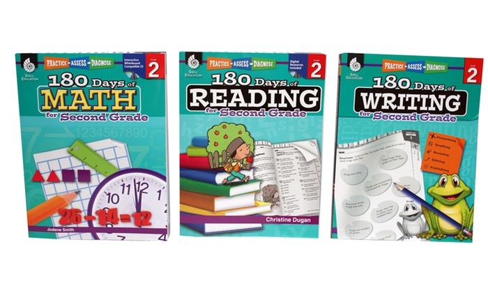 180 Days Of Reading Writing And Math From Kindergarten To 6th