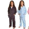 Angelina Girls' Cozy Fleece Pajama Set (2-Piece)