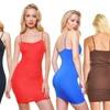 Seamless Spaghetti Strap Mini Dresses (2-Pack)
