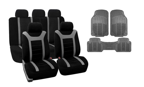 Sports Seat Cover Set with Rubber Floor Mats (12-Piece Set) a67e996e-2c18-11e7-992a-00259069d7cc