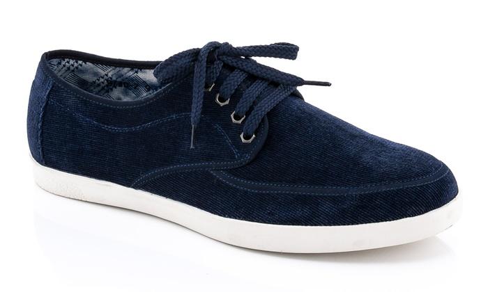 Franco Vanucci Men's Lace-Up Low-Top Sneakers (Sizes 7 & 9)