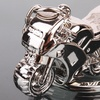 Sporty Motorcycle Keychain