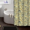 Floral Toile 15-Piece Shower Curtain and Bath Rug Set