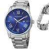 Akribos XXIV Men's Stainless Steel Bracelet Watch
