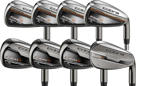 Cobra Golf Men's King F6 4-GW Iron Set with Steel Shafts and Stiff Flex (8-Piece) 09dc63a6-6670-11e7-bd20-002590604002