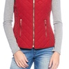 AA (DS) Lady Quilted Vest w/ Dual Pockets and Metal Accessories Specials