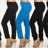 NYDJ Women's Textured Straight-Leg Slim Pants