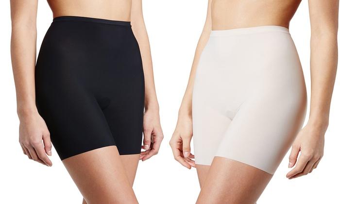 Hanes Sleek Smoothers Women's Shorty Shapewear