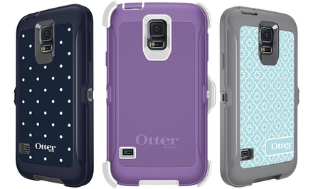 OtterBox Defender Series Case for Samsung Galaxy S5 with Belt Clip Holster/Kickstand