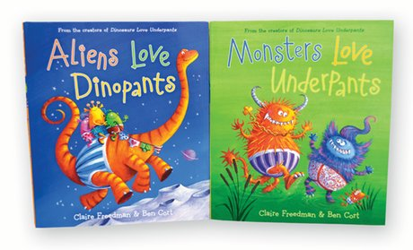 The Underpants Books Set (2-Pack)