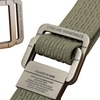 Trend Matters Men's Military Tactical Double-Ring Buckle Belt