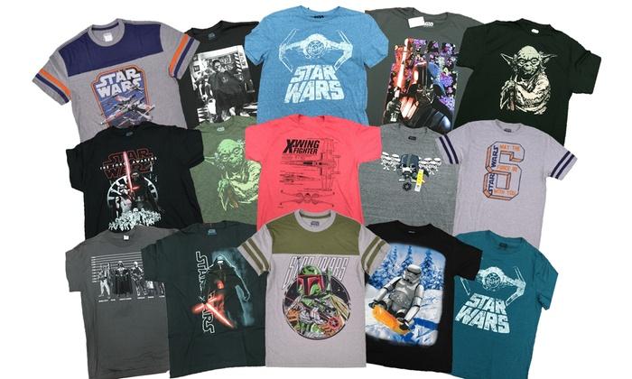 Men's Star Wars T-Shirt Mystery Deal