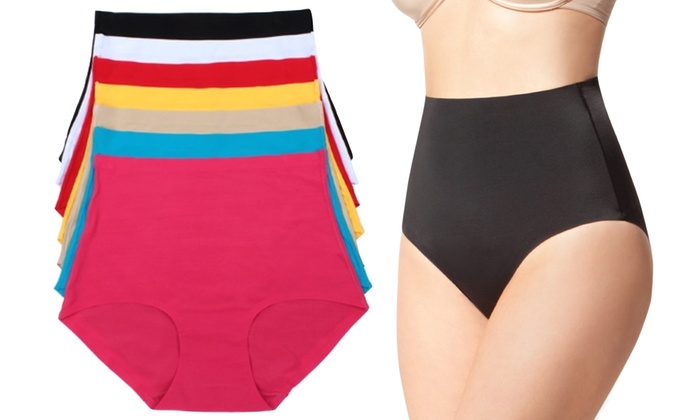 e32d170cf Up To 46% Off on Tummy-Control Panties (6-Pack)