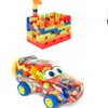 Constructible Building-Blocks Toy Cars for Kids