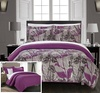 Chic Home Plumeria Abstract Floral Print Quilt Set (2- or 3-Piece): Chic Home Plumeria Abstract Floral Print Quilt Set (2- or 3-Piece)