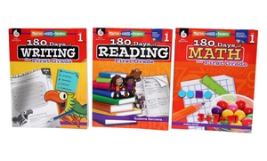 180 Days of Reading, Writing, and Math from Kindergarten to 5th Grade