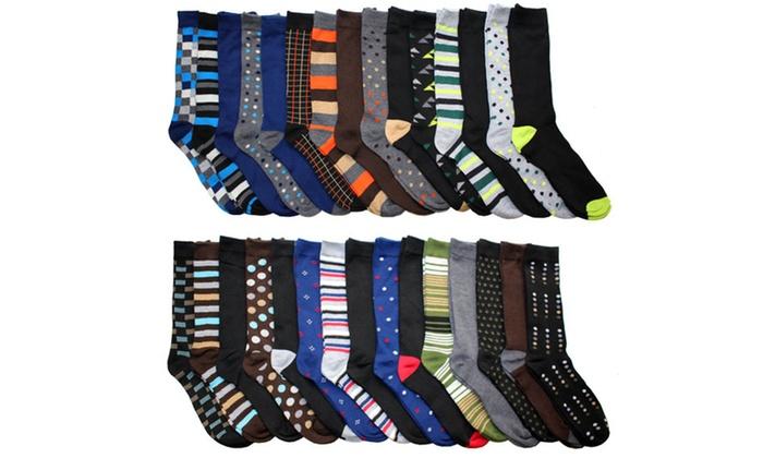 Up To 64% Off on John Weitz Dress Socks (30-Pack) | Groupon