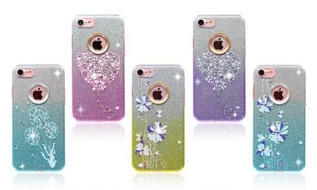 Glitter Graphic Rhinestone Smartphone Case for iPhone and Samsung fb85826e-47c6-11e7-a26f-002590604002