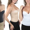 Seamless Open-Back Corset in Regular and Plus Sizes