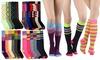 Women's Printed Knee-High Socks (6-Pack)