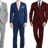 Men's Classic-Fit 2-Piece Suit Mystery Deal (Size 46Rx40W)