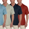 Harriton Men's Bahama Cord Camp Shirt