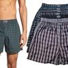 Men's Plaid Tartan Boxer Shorts (6-Pack)