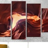 Antelope Canyon Wall Art on Gallery-Wrapped Canvas