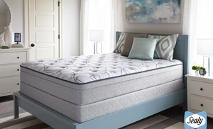 closeout u2014 sealy highfield plush eurotop or firm mattress sets free white glove delivery