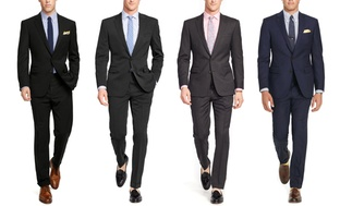 2-Pc. Verno Classic Fit Mens Suits