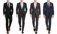 2-Piece Verno Classic Fit Mens Suits (Multiple Colors)