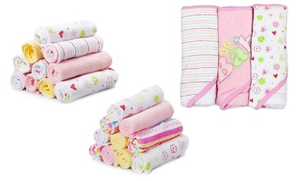 spasilk baby bath gift set 23 piece groupon. Black Bedroom Furniture Sets. Home Design Ideas