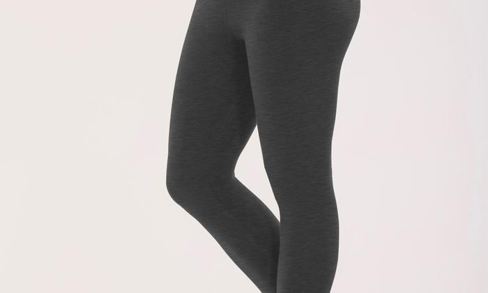 a329bde41 Bally Total Fitness Women s Tummy Control Capri Legging (Size Medium ...