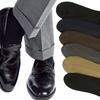 6-Pack of Men's Solid-Color Dress Socks