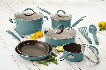 Rachael Ray Cucina Hard Enamel Nonstick Cookware Set (12-Piece) 716e6a36-0ffa-11e7-97dc-00259069d868