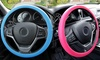 Universal-Fit Snake Pattern Odorless Silicone Steering Wheel Cover