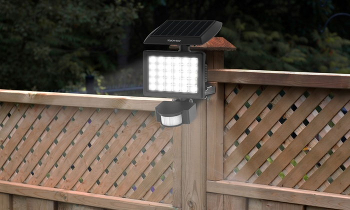 Nitewatch Motion-Activated 30-LED Solar Floodlight: Nitewatch Motion-Activated 30-LED Solar Floodlight