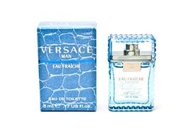 Versace Man Eau Fraiche Eau de Toilette for Men; 0.17 or 3.4 Fl. Oz. at Nandansons International Inc, plus 6.0% Cash Back from Ebates.