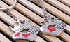 My King and My Queen Couples Keychain Set: My King and My Queen Couples Keychain Set