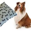 Printed Rectangular Pet Bed