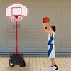The Real Action Basketball Hoop
