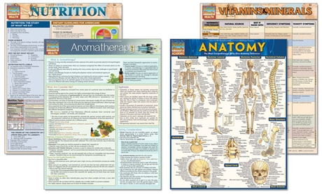 Quick Tips for a Healthy You Laminated Reference Guide Set (4-Piece) 0d3a1ed0-1fad-11e7-87c8-00259069d868