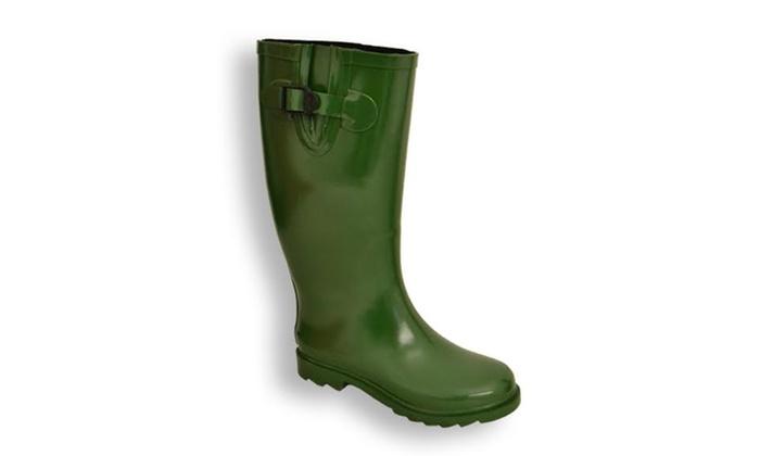 Innovative Women39s Matte 3D Rain Boots Women39s Matte 3D Rain Boots