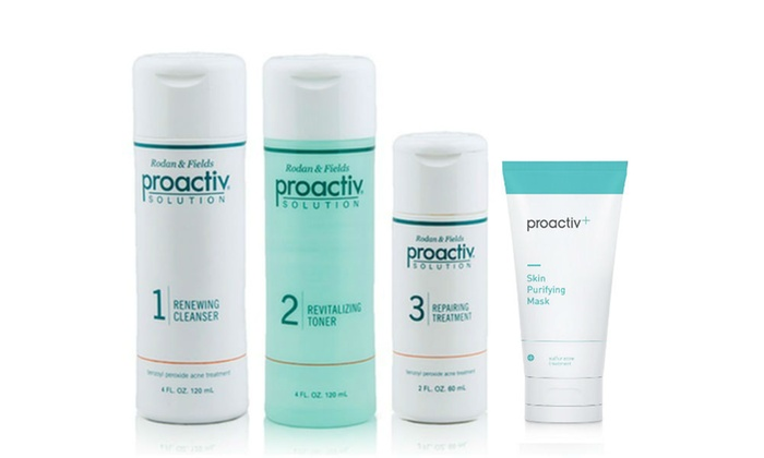 Proactiv 3 Step Acne Treatment System 60 Day Supply With Bonus Mask Groupon