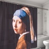 Girl with the Pearl Earring Museum Collection Shower Curtain