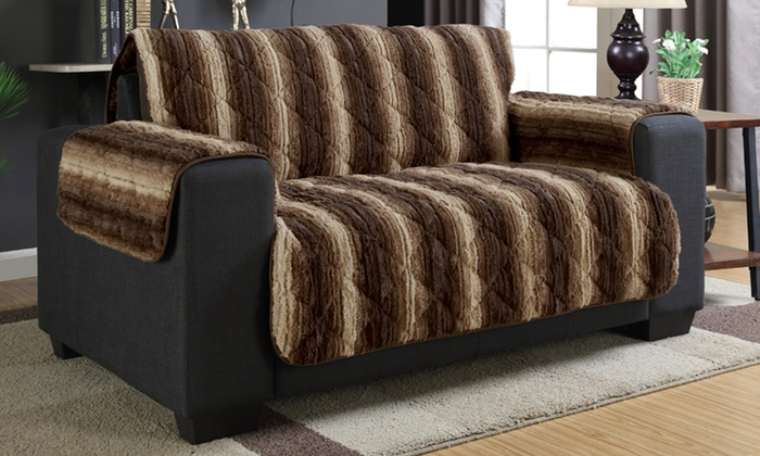 Luxury Faux Fur Furniture Covers: Luxury Faux Fur Furniture Covers ...