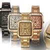 Geneva Platinum Women's Regal Rose Chronograph Watch